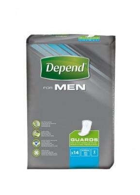 Afbeelding van Depend for Men Guards 14 stuks