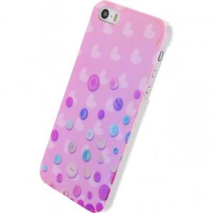 Afbeelding van Xccess Oil Cover Apple iPhone 5/5S/SE Buttons