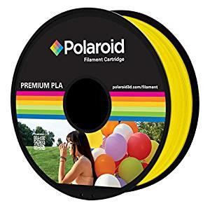 Afbeelding van 3D Filament Polaroid 1.75mm PLA 1kg geel Printers