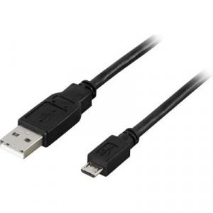"""Bild av """"USB kabel 2,0 A till Micro B"""""""