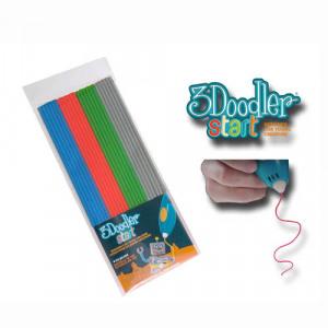 Afbeelding van 3Doodler Start navulling kleurstaafjes grijs/blauw/groen/rood