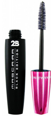 Afbeelding van 2B Mascara Black Edition Amazing Volume Lashes