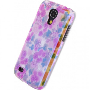 Afbeelding van Xccess Oil Cover Samsung Galaxy S4 Mini I9195 Yellow Flower