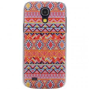Afbeelding van Xccess Cover Samsung Galaxy S4 Mini I9195 Orange Aztec