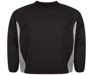 Image of Airosportswear Windbreakers Black/Silver