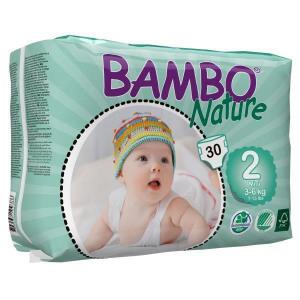 Afbeelding van Bambo Babyluiers Mini 2 3 6 Kg, 30 stuks