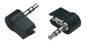 Afbeelding van 3.5 mm stereo jack haakse plug