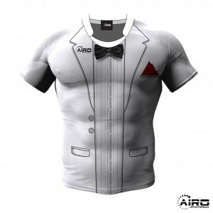 Image of Airosportswear Tuxedo Rugby Shirt