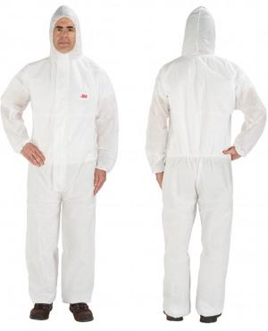 Afbeelding van 3m beschermende overall 4515 , wit, s
