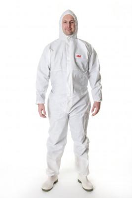 Afbeelding van 3m beschermende overall 4505 , wit, xl