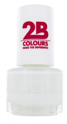 Afbeelding van 2B Nagellak Mega Colours Mini 02 Snow White