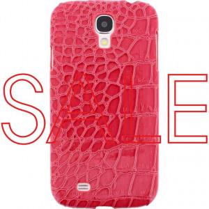 Afbeelding van Xccess Croco Cover Samsung Galaxy S4 I9500/I9505 Fuchsia