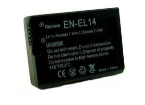 """Bild av """"Batteri till Nikon D3200 P7000 mm"""""""