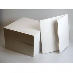 Afbeelding van Culpitt Taartdozen 25x25x15,2cm 50 stuks