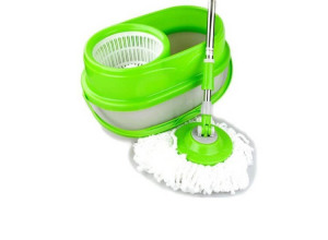 Afbeelding van 2Clean Whizz Magic Mop 360 graden + Emmer (complete set)