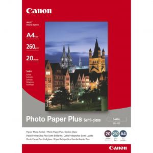 Billede af Canon fotopapir Semi Gloss 10x15cm, 260g, 5 ark (1686B072)