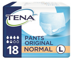 Afbeelding van Tena Pants original normal l 18st