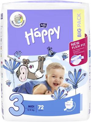 Afbeelding van Happy Babyluiers 3 Midi