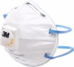 Afbeelding van 3M 8822 Stofmasker FFP2 NR D Met Uitademventiel Wit Stofmaskers
