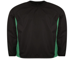 Image of Airosportswear Windbreakers Black/Emerald