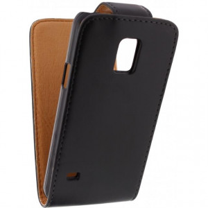 Afbeelding van Xccess Flip Case Samsung Galaxy S5 Mini Black