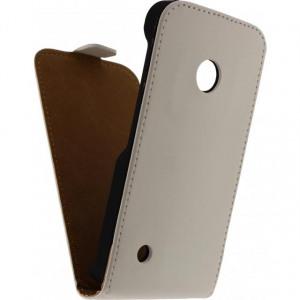 Afbeelding van Mobilize Ultra Slim Flip Case Nokia Lumia 530 White