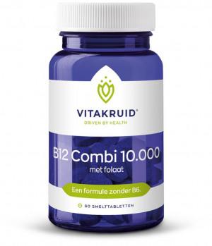 Afbeelding van Vitakruid B12 Combi 10.000 Smelttabletten