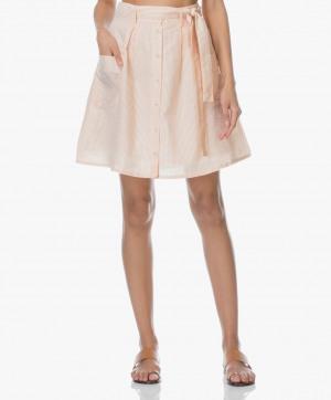 Zdjęcie Marie Sixtine Skirt Erika Striped Golden