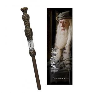 Afbeelding van Albus Dumbledore toverstok pen en boekenlegger