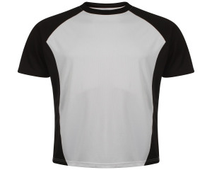 Image of Airosportswear Training T Shirts Black/White