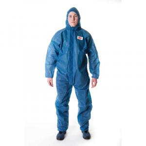 Afbeelding van 3m beschermende overall 4500 , blauw, s