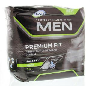 Afbeelding van Tena For men pants premium fit maxi large 10 stuks