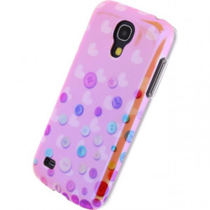 Afbeelding van Xccess Oil Cover Samsung Galaxy S4 Mini I9195 Buttons