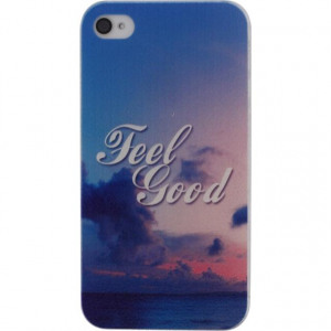 Afbeelding van Xccess Cover Apple iPhone 4/4S Feel Good