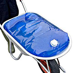 """Abbildung von H2go bag Wasserbehälter für Schubkarren """"H2GoBag"""" Blau 80L."""