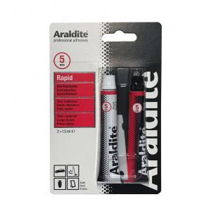 Afbeelding van Araldite rapid epoxylijm 2 x 15 ml, dubbelspuit