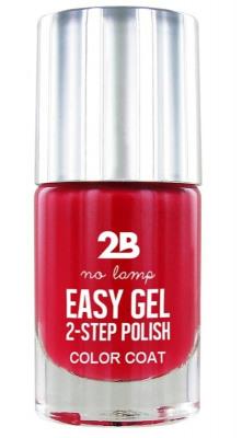 Afbeelding van 2b Nagellak easy gel 2 step polish 504 berry fuchsia 1 Stuk