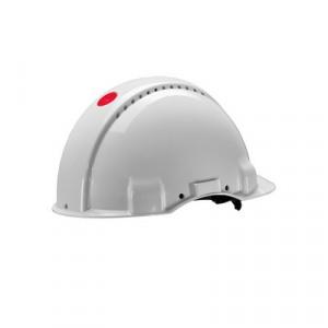 Afbeelding van 3M Peltor G3001NUV VI Veiligheidshelm met draaiknop Wit Plastic sweatband di electrisch (440V)
