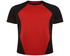 Image of Airosportswear Training T Shirts Black/Red