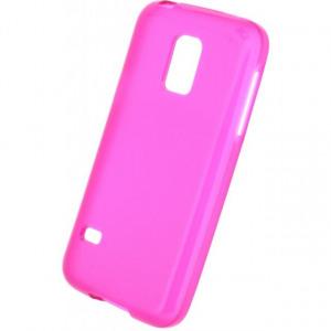 Afbeelding van Mobilize Gelly Case Samsung Galaxy S5 Mini Transparent Pink