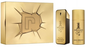 Afbeelding van Paco Rabanne 1 million giftset voor hem parfum + deodorant 1st
