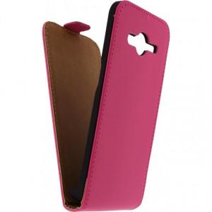 Afbeelding van Mobilize Ultra Slim Flip Case Samsung Galaxy Core II Fuchsia Mobiliz