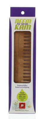 Afbeelding van Holisan Neem houten kam recht grof (1 stuks)