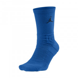 Image of Jordan Ultimate Flight 2.0 Crew Basketball Socks Blue