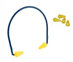 Afbeelding van 3M E A R Caboflex Gehoorbeugel Blauw geel Gehoorbeugels