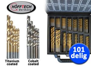 Afbeelding van Hofftech 101 delige Borenset (Titanium of Cobalt coating)