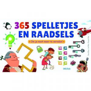 Afbeelding van 365 spelletjes en raadsels Bernard Myers, Loïc Méhée Alexandre Arlène