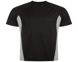 Image of Airosportswear Training T Shirts Black/Silver