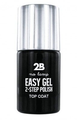 Afbeelding van 2b Nagellak easy gel 2 step polish 500 top coat 1 Stuk