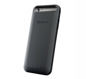 Image de Boompods Powercase 3100mAh iPhone 6/6S grijs PC6DGR